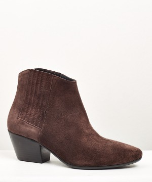 BOTIN DE SERRAJE BROWN